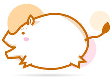 Little cute pig Stock Image