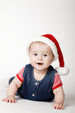 Little cute santa portrait Royalty Free Stock Photo