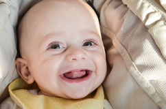 Little cute smiling  baby  boy Stock Photo