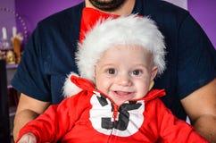 Little cute smiling  baby  boy Stock Photos