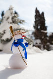 Little cute snowman Royalty Free Stock Images