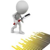 Business data analysis Stock Photo