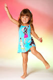 Little dancer Royalty Free Stock Image