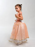 Little dancer. Royalty Free Stock Image