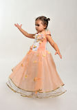 Little dancer. Royalty Free Stock Photography