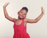 Little Dancer Girl Royalty Free Stock Photography