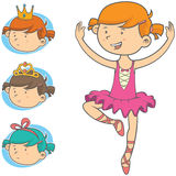 Little Dancer Stock Images