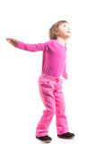 Little dancer in pink Royalty Free Stock Photos