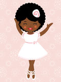 Little dancing ballerina Stock Photo