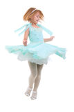 Little Dancing Girl. Royalty Free Stock Photo