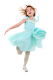 Little Dancing Girl. Stock Photo