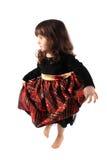 Little dancing girl royalty free stock image
