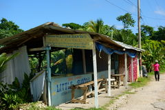 Little David's Jerk Centre in Boston Bay, Jamaica Stock Photos