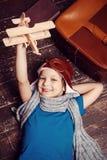 Little day dreamer. Stock Photo