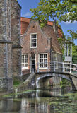 Little Delft House in Holland Royalty Free Stock Photo