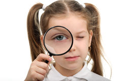 Little detective Stock Image
