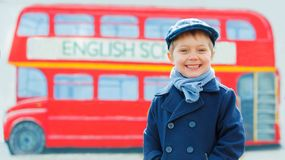 Little detective Stock Images
