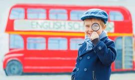 Little detective Stock Image