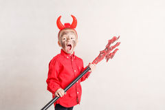 Little devil. Stock Images