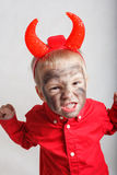 Little devil. Royalty Free Stock Photo