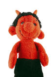 Little devil - hand puppet Stock Photo