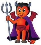 Little devil theme image 1 Stock Images