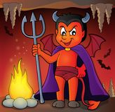 Little devil theme image 3 Stock Photography