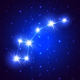 Little Dipper constellation Royalty Free Stock Image