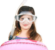 Little diver Stock Photography