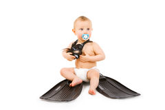 Little diver Royalty Free Stock Photography