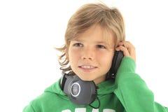 Little DJ royalty free stock photo