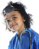 Little Doc Portrait Stock Photography