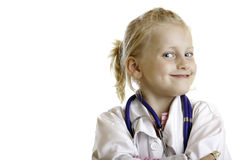 The little doctor Stock Photo