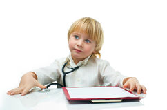 Little doctor Royalty Free Stock Photo