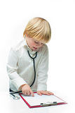 Little doctor Stock Image