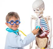 Little doctor. Stock Images