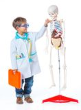 Little doctor. Stock Photography