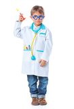 Little doctor. Royalty Free Stock Photography