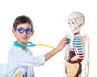 Little doctor. Stock Image