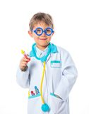 Little doctor. Royalty Free Stock Images