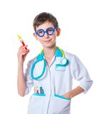Little doctor. Royalty Free Stock Image