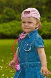 Little doctor in the garden Stock Image