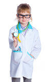 Little doctor Stock Images