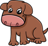 Little dog cartoon character Royalty Free Stock Photography