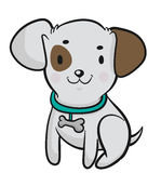 Little Dog vector illustration
