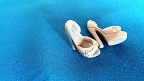 Little doll heels Royalty Free Stock Images