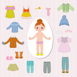 Little doll Royalty Free Stock Photos