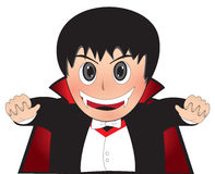 Little Dracula. Kid boy child royalty free illustration