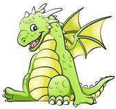 Little dragon Stock Photography