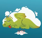 Little dragon Stock Images